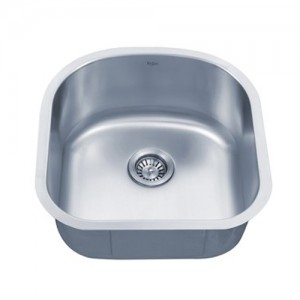 Kraus KBU15 Single Bowl Kitchen Sink