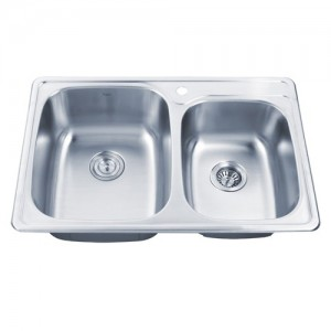 Kraus KTM32 Double Bowl Kitchen Sink
