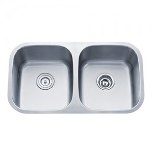 Kraus KBU22 Double Bowl Kitchen Sink