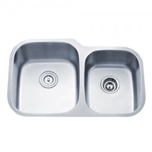 Kraus KBU24 Double Bowl Kitchen Sink