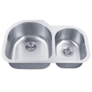 Kraus KBU26 Double Bowl Kitchen Sink
