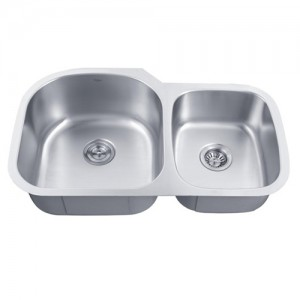 Kraus KBU27 Double Bowl Kitchen Sink