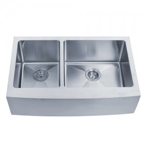 Kraus KHF204-33 Double Bowl Kitchen Sink