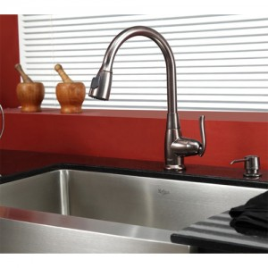 Kraus KHF200-30-KPF2230-KSD30ORB Kitchen Sink Sets
