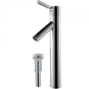 Kraus FVS-1002-PU-10CH Bathroom Sink and Faucet Combos