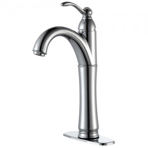 Kraus FVS-1005CH Bathroom Sink and Faucet Combos