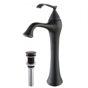 Kraus KEF-15000-PU15ORB Bathroom Sink and Faucet Combos