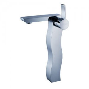 Kraus KEF-14600-PU-10CH Bathroom Sink and Faucet Combos