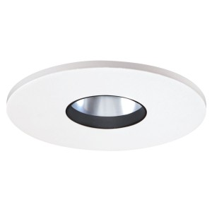 Halo 3002whc recessed lighting trim 3 low voltage adjustable halo 3002whc recessed lighting trim 3 low voltage adjustable baffle pinhole reflector trim white with clear reflector aloadofball Images
