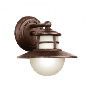 Kichler 11106AGZ Outdoor Wall Lights