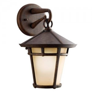 Kichler 9052AGZ Outdoor Wall Lights