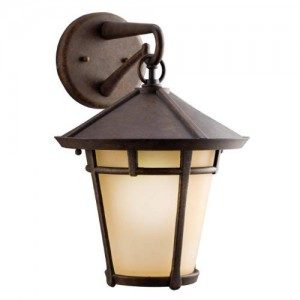 Kichler 9053AGZ Outdoor Wall Lights