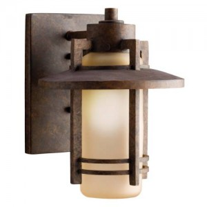 Kichler 9057AGZ Outdoor Wall Lights