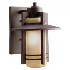 Kichler 9058AGZ Outdoor Wall Lights