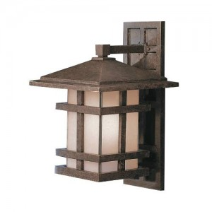 Kichler 9132AGZ Outdoor Wall Lights