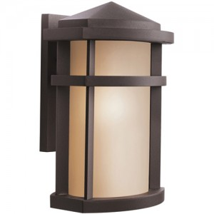 Kichler 9167AZ Outdoor Wall Lights
