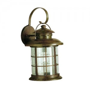 Kichler 9761RST Outdoor Wall Lights