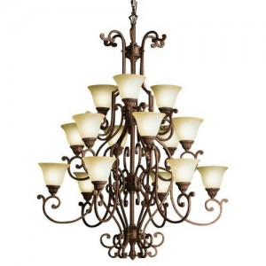 Kichler 2218TZG Full-Size Chandeliers