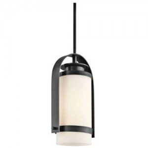 Kichler 49316BK Outdoor Ceiling Lights