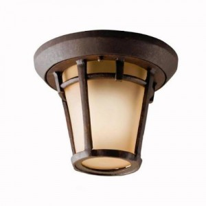 Kichler 9555AGZ Outdoor Ceiling Lights