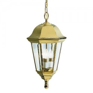 Kichler 9889PB Outdoor Ceiling Lights