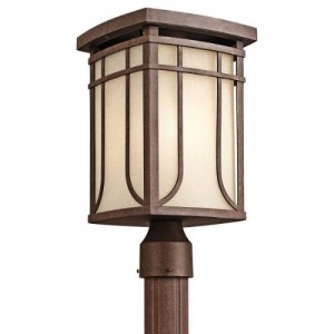 Kichler 49150AGZ Outdoor Post Lanterns