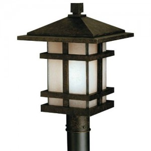 Kichler 9529AGZ Outdoor Post Lanterns