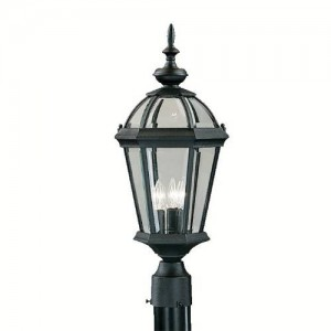 Kichler 9951BK Outdoor Post Lanterns