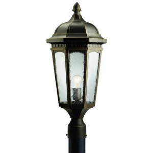 Kichler 9532RZ Outdoor Post Lanterns