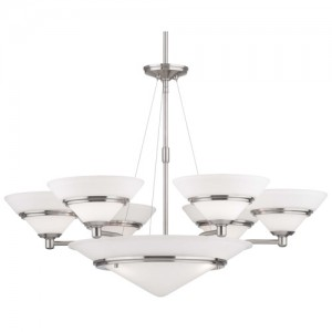 Forecast Lighting F120036 Full-Size Chandeliers