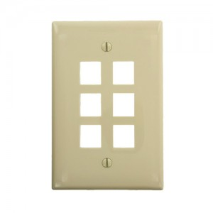 Leviton 41091-6IN QuickPort