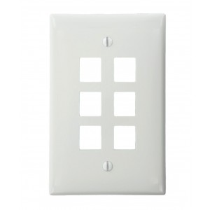 Leviton 41091-6WN QuickPort