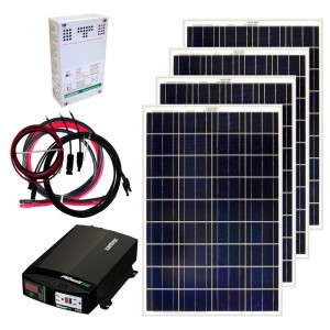 Grape Solar GS-400-KIT Solar Power