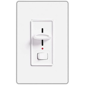 Lutron S-600PNL-WH Wall Dimmers