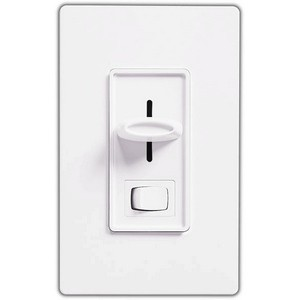 Lutron SLV-600P-WH Wall Dimmers