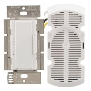 Lutron MA-FQ4FM-WH Fan Speed Control