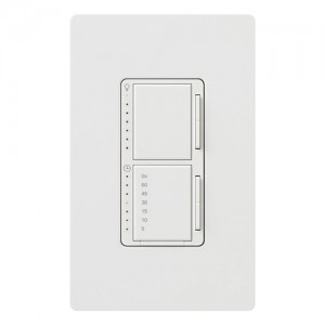 Lutron MA-L3T251-WH Light Timers