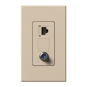 Lutron NT-PJ8CJ-TP Phone Jacks