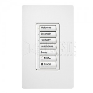 Lutron RALB-5W-AO-WH-P Wireless Lighting Master Controllers