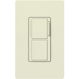 Lutron MA-L3S25-BI Combo Switches