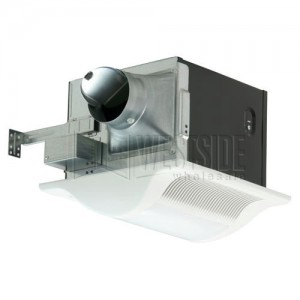 Panasonic FVVQL CFM WhisperLite Bathroom Fan With Light For - Panasonic whisperlite bathroom fan