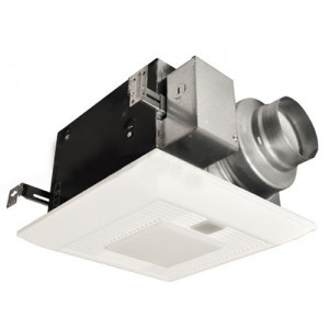 Panasonic fv 11vqcl5 bathroom fan 110 cfm whispersense - Ductless bathroom exhaust fan with light ...
