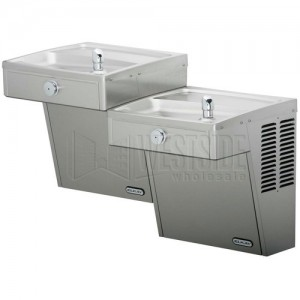 Elkay LVRCTL8SC Double Drinking Fountains