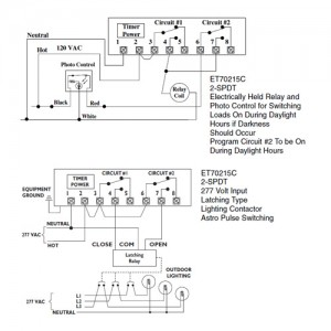 Daylight switch with contactor wiring diagram wiring diagrams intermatic et70215cr timer 120 277v spdt 1 circuit full year to the contactor coil wiring cheapraybanclubmaster