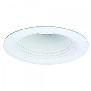 Halo 5126wb recessed lighting trim 5 shallow full cone white halo 5126wb recessed lighting trim 5 shallow full cone white baffle white self flange ring aloadofball Images