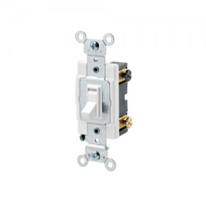 Leviton 545042W 4Way Switch Framed Toggle 15A 120277V White