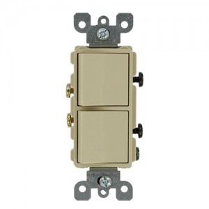 Leviton 5627-I Combo Switches