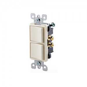 Leviton 5634-T Combo Switches