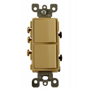 Leviton 5641-I Combo Switches