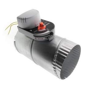 Aprilaire 6506 Ventilation Damper, Normally Closed/Power